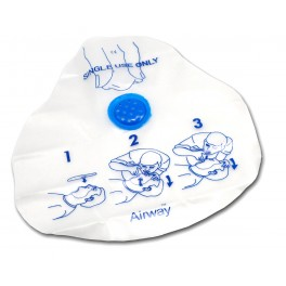 Airway® CPR Shield w/ Check Valve & Filter