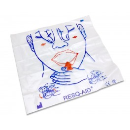 Resq-Aid® CPR Shield w/ Check Valve & Filter