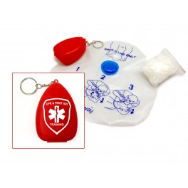 Airway® Premium CPR Shield w/ One-way Check Valve, Filter, Gloves & Small Case