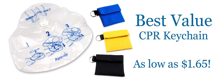 Best value CPR barrier keychain kit